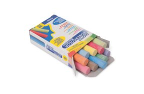 COLORED CHALKS 10 PCS